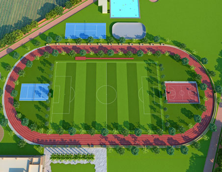 Outdoor Sports Arena